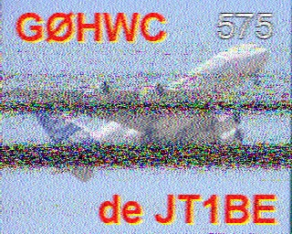 JT1BE SSTV Contact