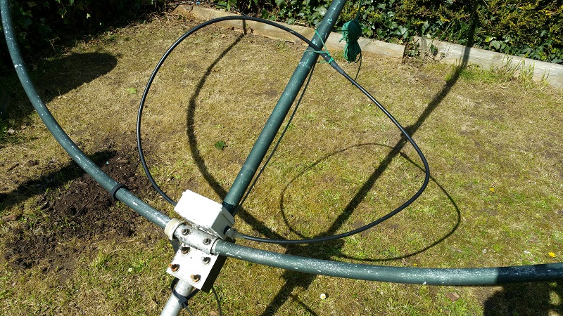 feed point Cap-Co 80m top band mag loop for sale