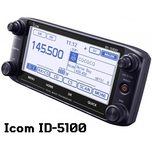Icom 5100 head unit