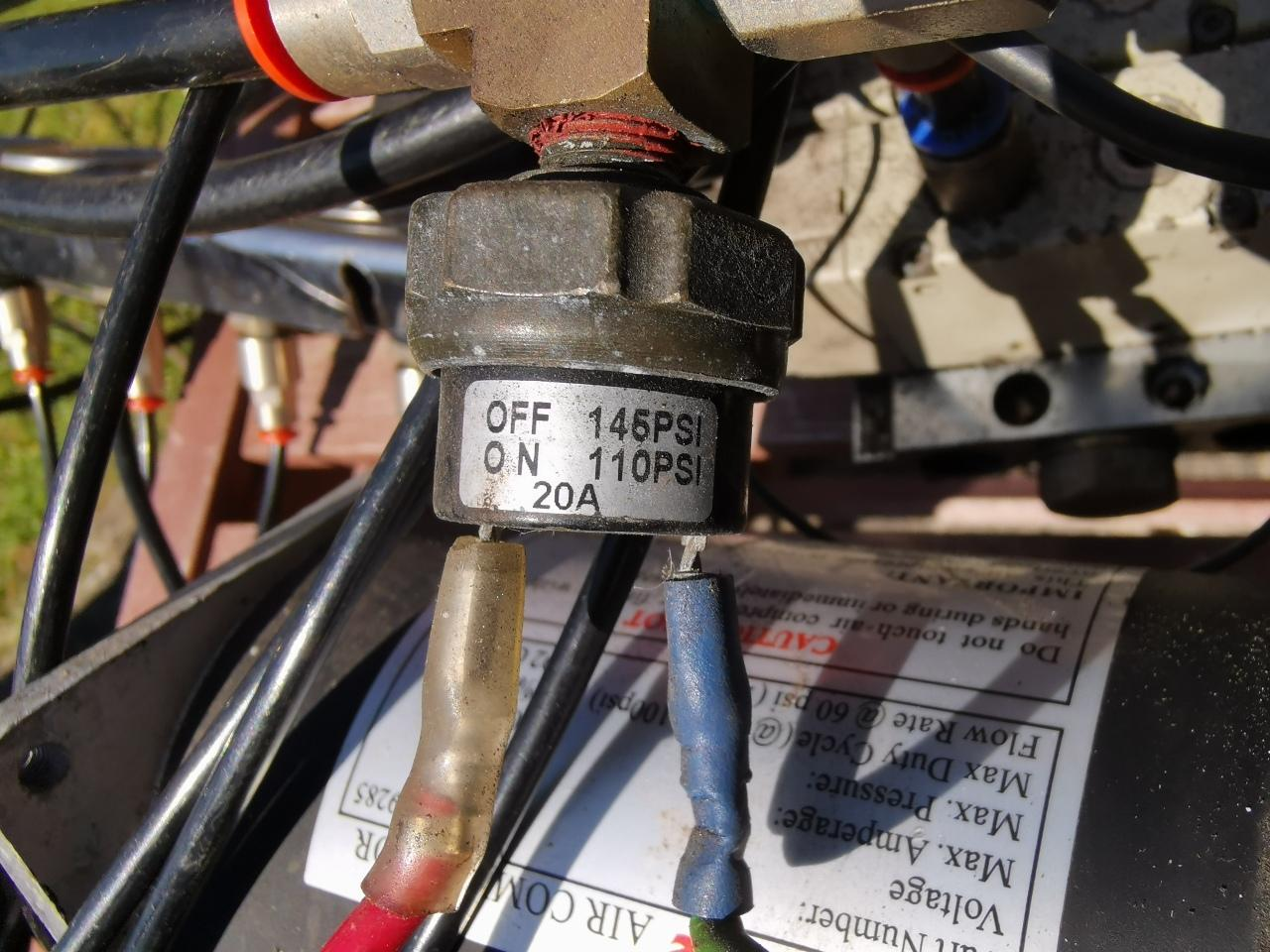 air ride cutoff switch