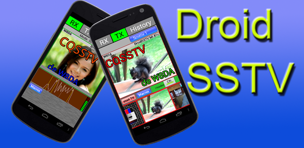 Android phone Droid SSTV