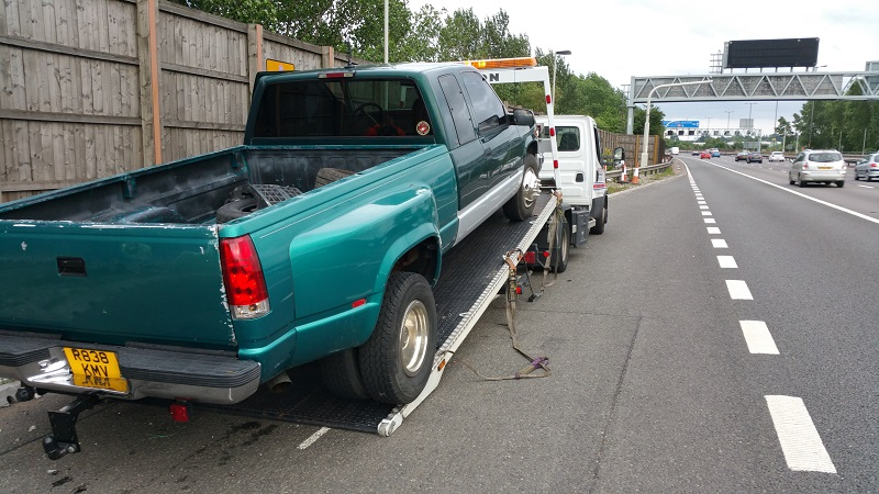 My C3500 Dually truck was also too long and over weight for the small truck