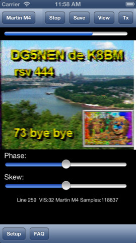 SSTV on your Iphone or Ipad