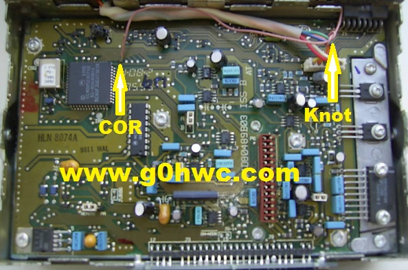Motorola GM300 COR / COS direct connection logic board