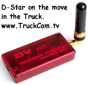 D Star DVAP mobile in truck